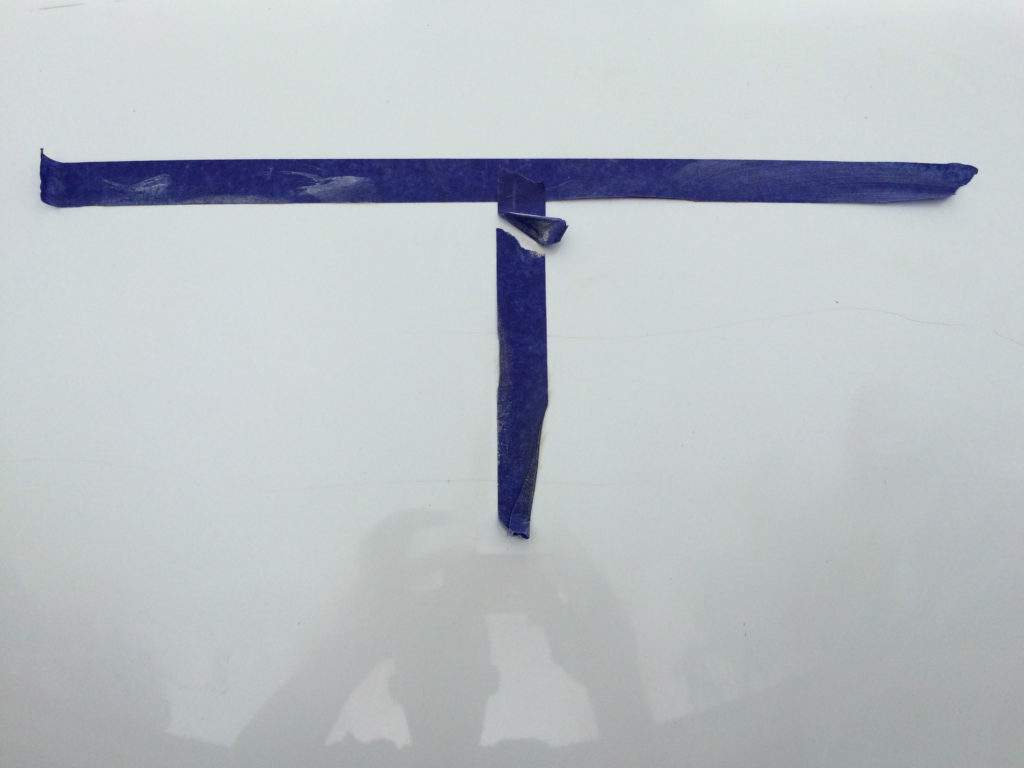 Picture of hood sanded